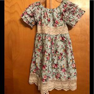 Other - Toddler girls flower dress.